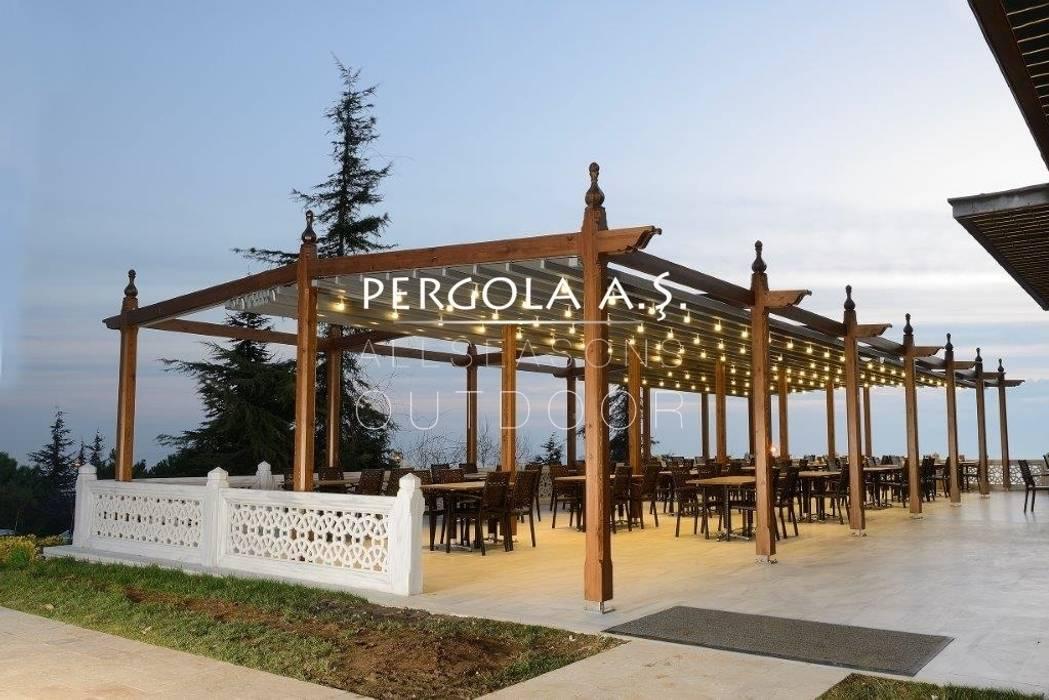 Nowoczesny balkon, taras i weranda od PERGOLA A.Ş. Nowoczesny