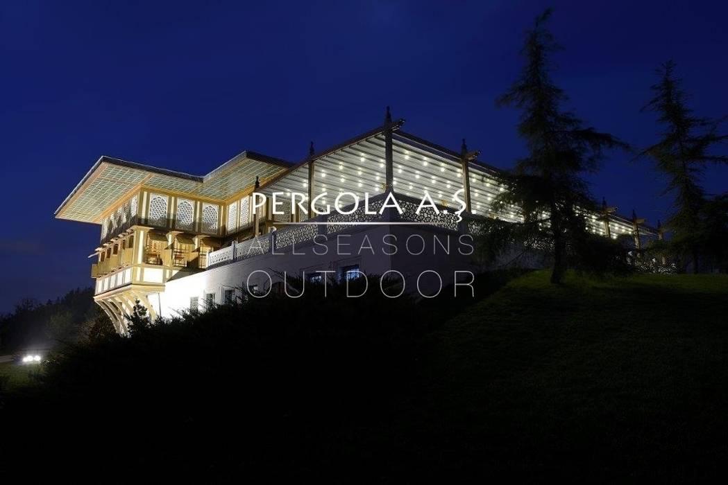 PERGOLA A.Ş. – Pergola Wood :  tarz Yeme & İçme