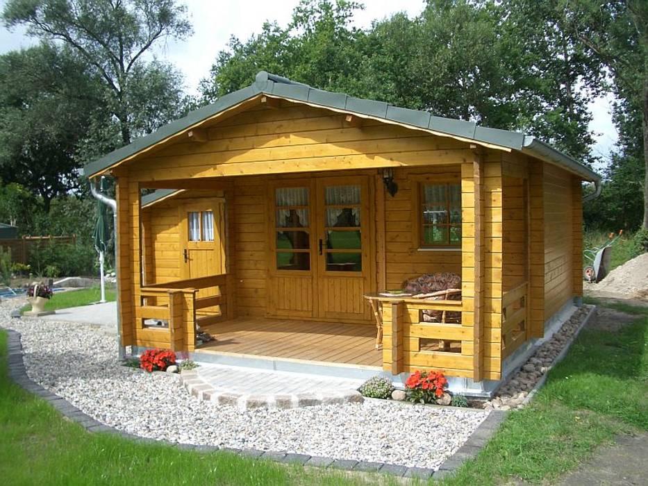 Gartenhaus Oslo:  Häuser von Betana Blockhaus GmbH,