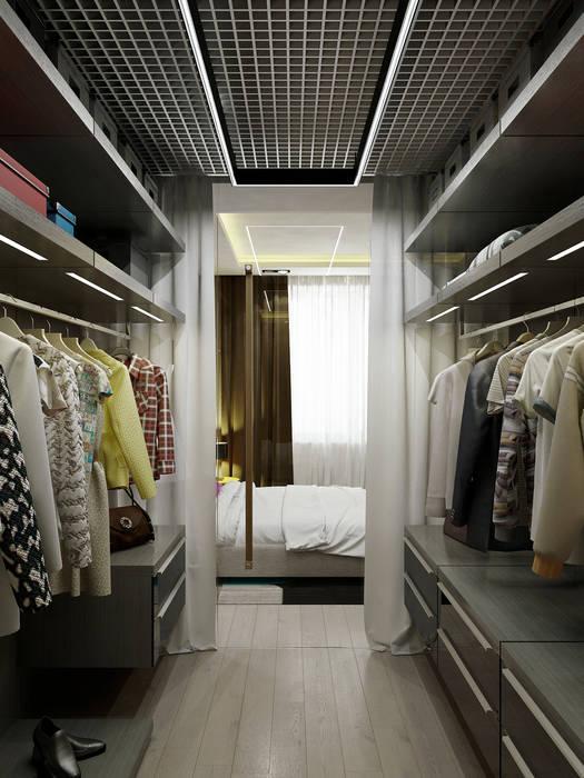 Vestidores de estilo  de Max Kasymov Interior/Design, Moderno