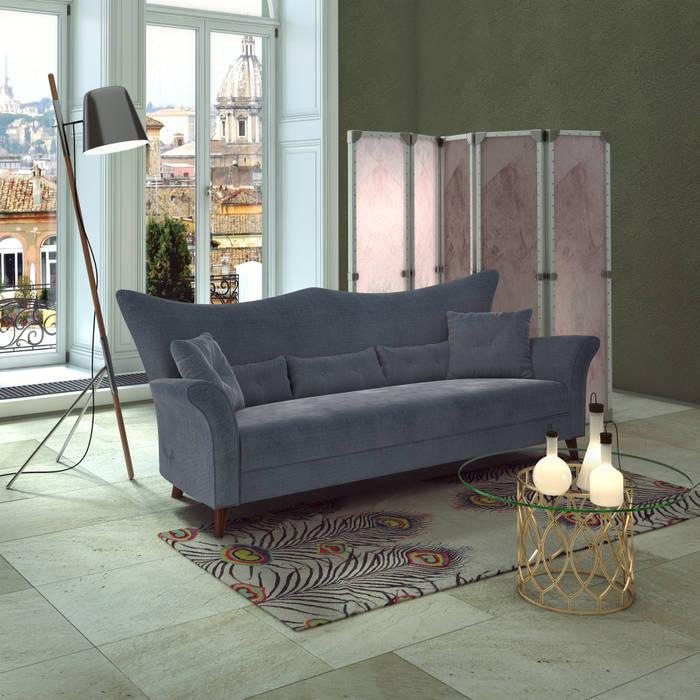 3d interior furniture Sofa banzho: Гостиная в . Автор – 3D_DESIGNER_ALLA, Эклектичный
