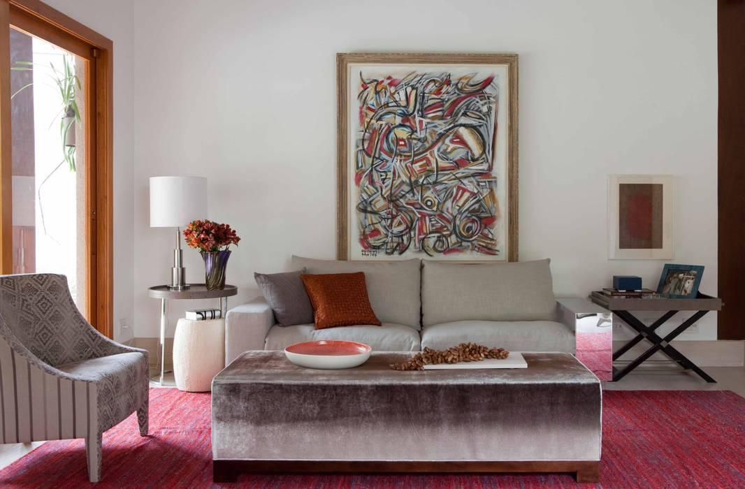 Salas / recibidores de estilo  por Deborah Roig, Moderno
