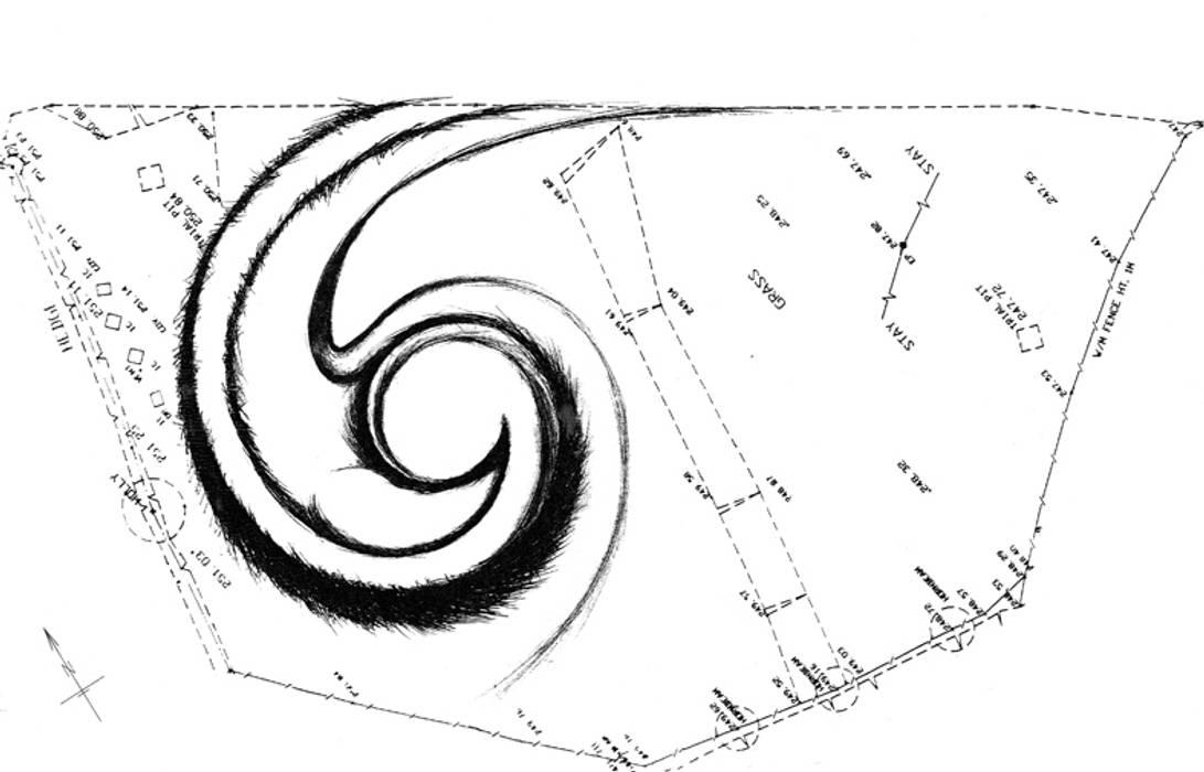 House for stories 配置図 オリジナルな 家 の 遠野未来建築事務所 / Tono Mirai architects オリジナル