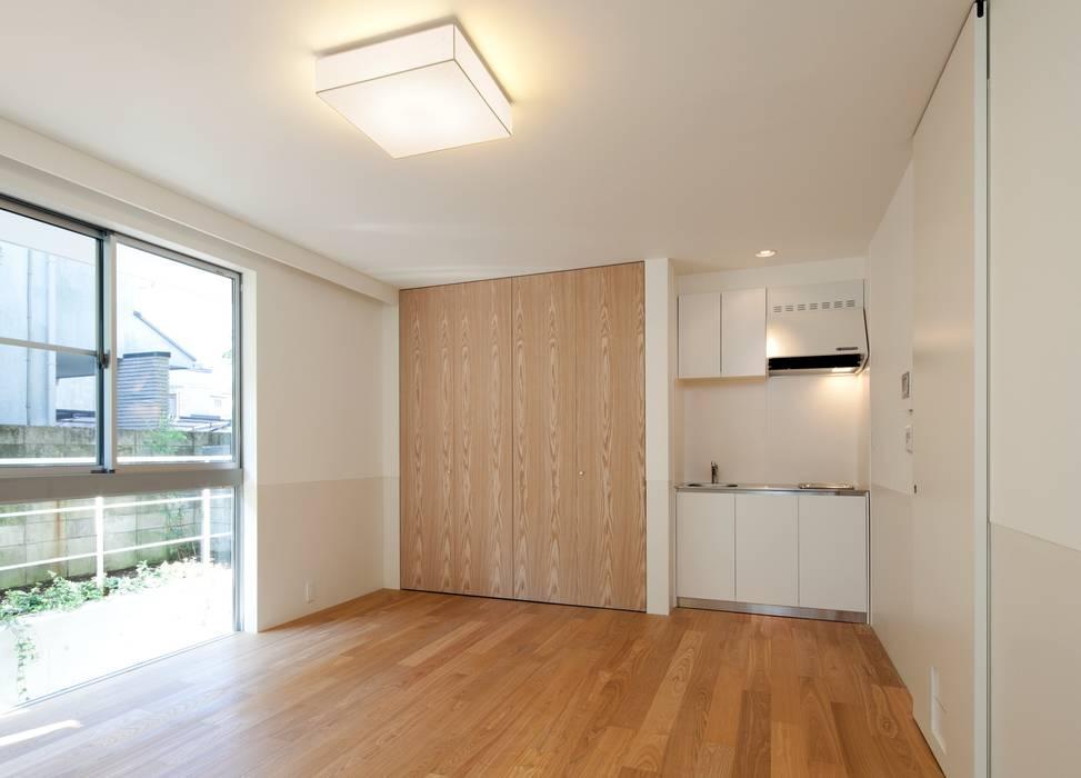 母の個室 モダンスタイルの寝室 の Unico design一級建築士事務所 モダン