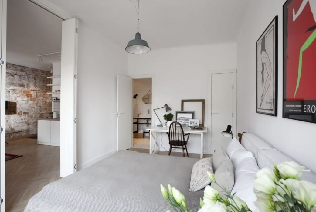 Espacios: Dormitorios de estilo minimalista de cs