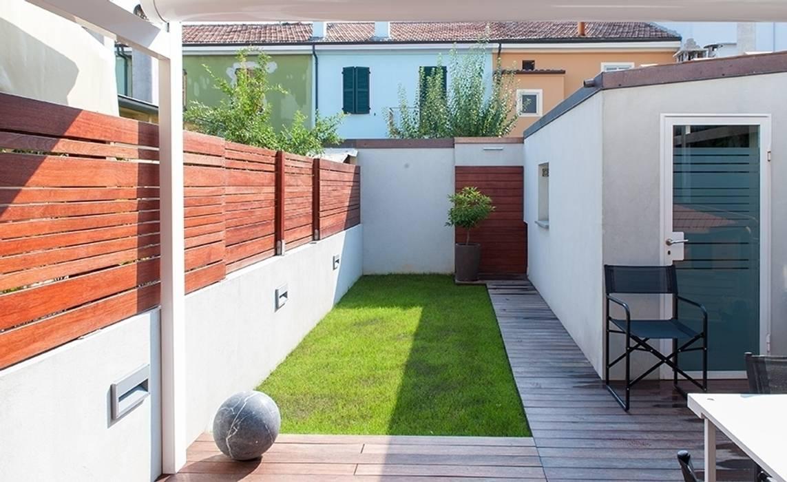 Garten von bbprogetto, Minimalistisch