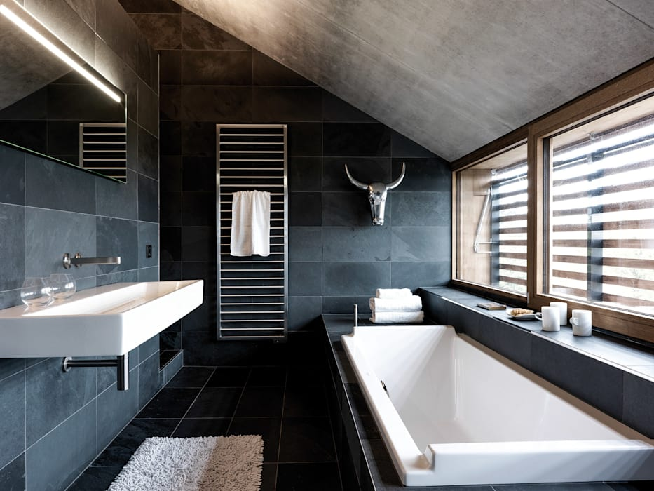 Bathroom by Maisons Loginter