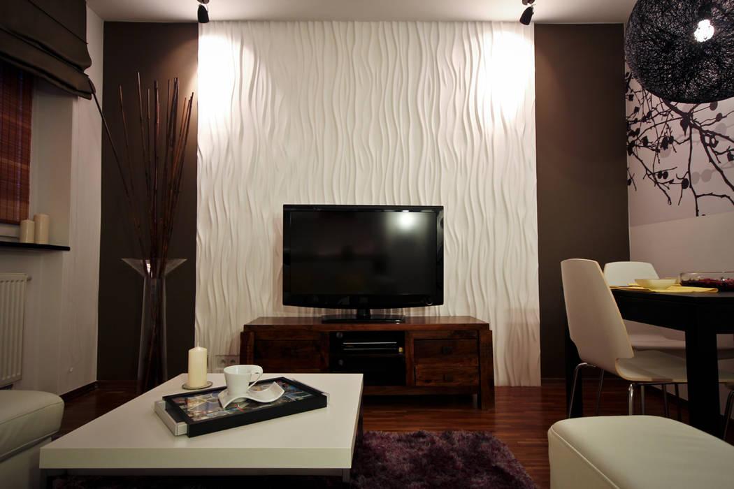 Charmant 3D Wandpaneele Modell Nr. 27 STREAM: Moderne Wohnzimmer Von Loft Design  System Deutschland