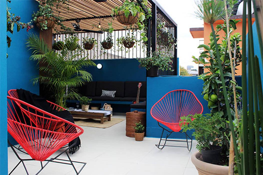 Balcon, Veranda & Terrasse modernes par NINA SAND Moderne