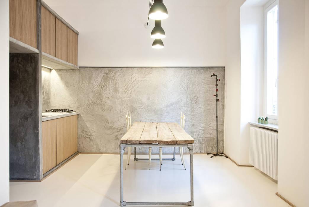R3ARCHITETTI Minimalist dining room