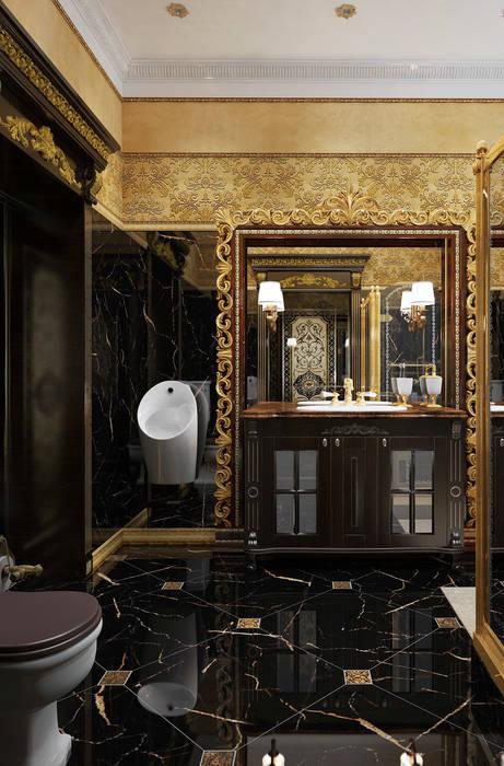 ванная: Ванные комнаты в . Автор – дизайн студия Mucci