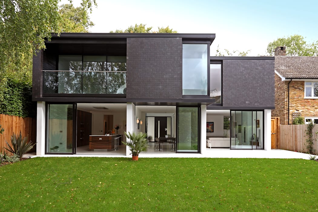 Brixham House Modern Houses by Tye Architects Modern