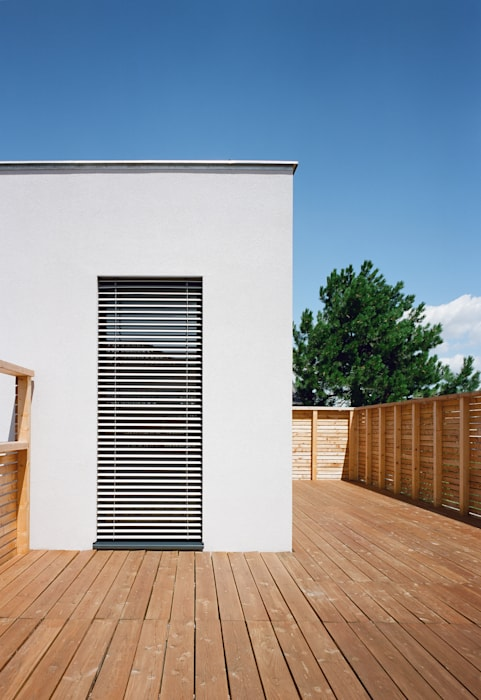 Modern balcony, veranda & terrace by Abendroth Architekten Modern