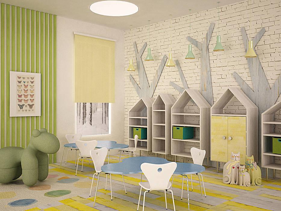 Kindergarten : Детские комнаты в . Автор – SHKAF interior architects