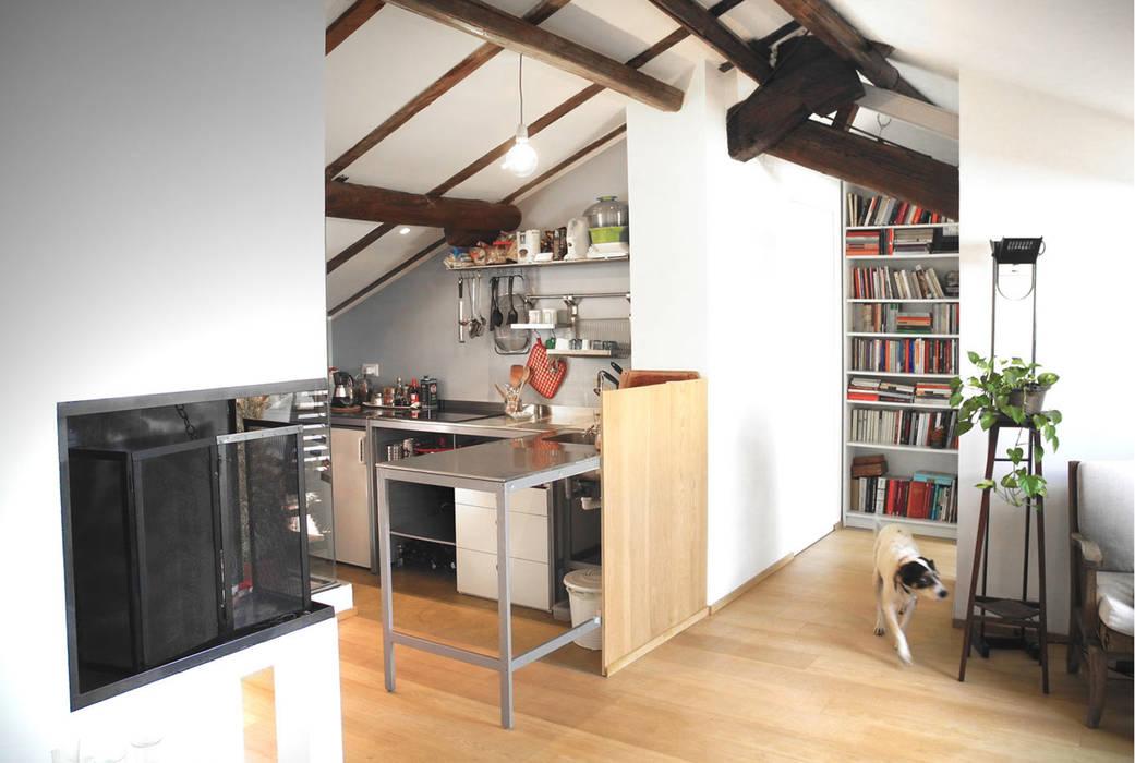 Livings de estilo moderno de 02arch Moderno