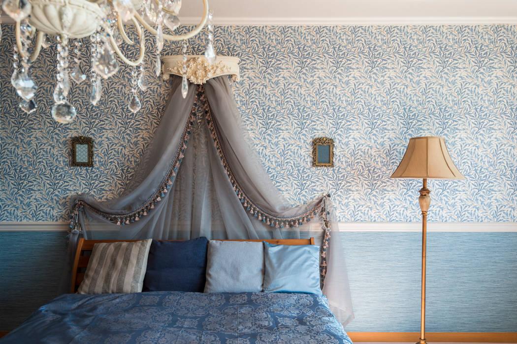 shinagawa 夏水組 クラシカルスタイルの 寝室
