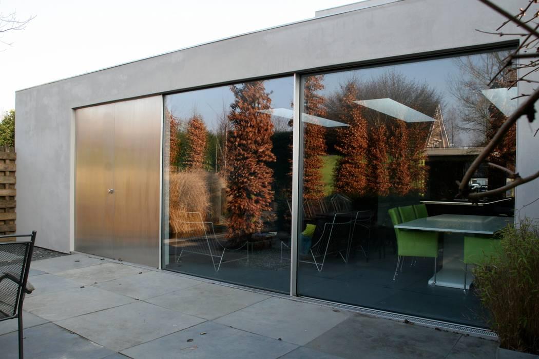 minimalistische uitbouw Joris Verhoeven Architectuur Minimalistische huizen
