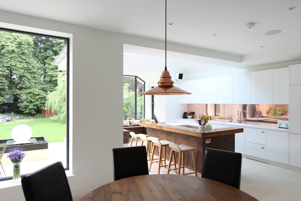 Wanstead Village Kitchen:  Kitchen by Phillips Design Studio,