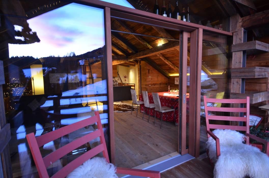 Studio Marastoni Balcon, Veranda & Terrasse modernes