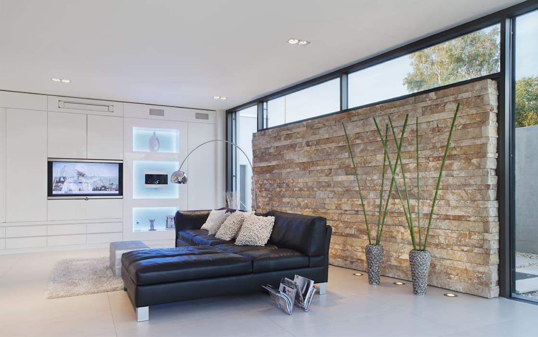 Ruang Keluarga Minimalis Oleh Skandella Architektur Innenarchitektur Minimalis