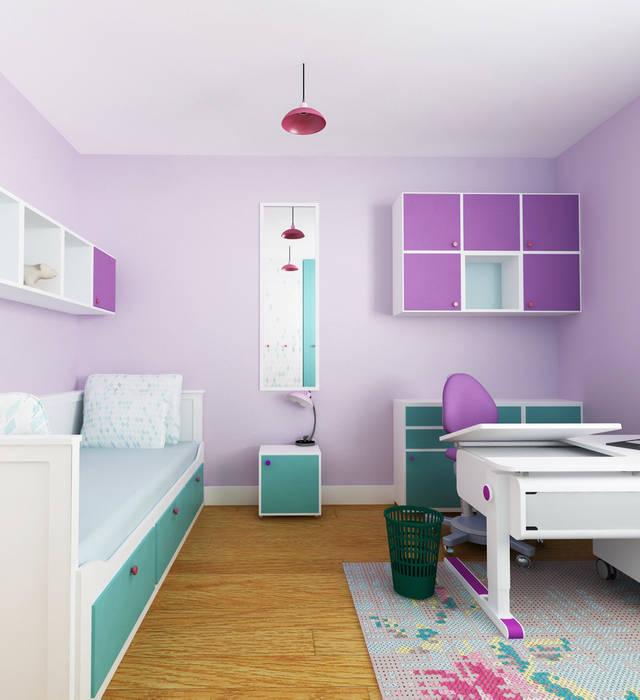 Pokój 8-latki: styl , w kategorii Pokój dziecięcy zaprojektowany przez SPOIWO studio