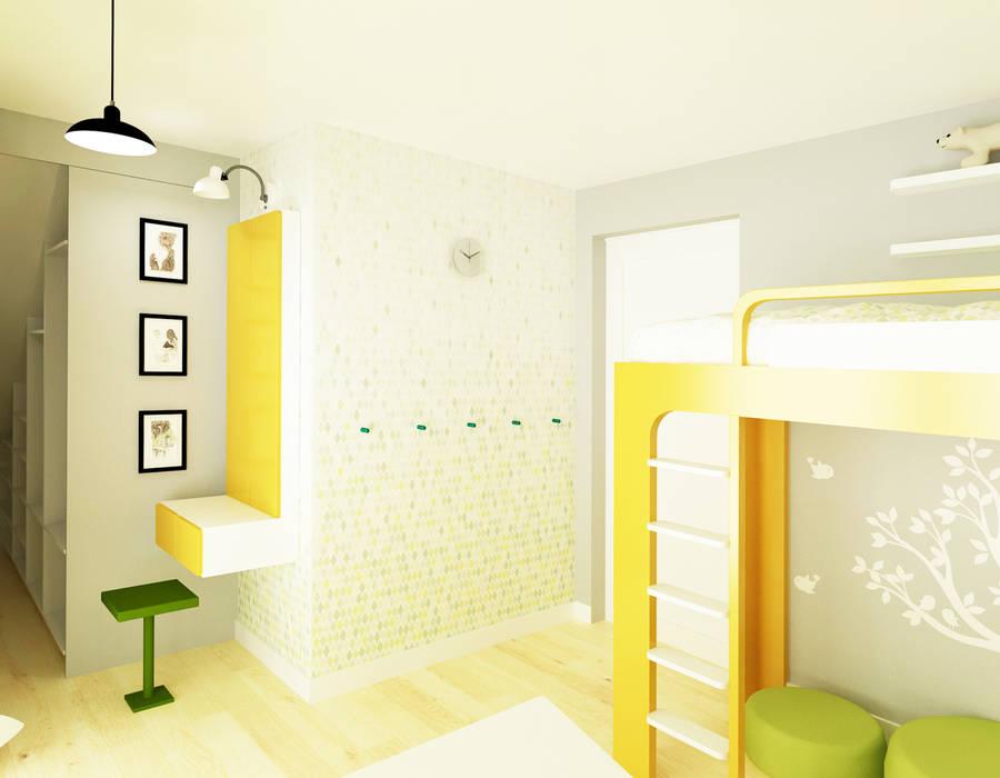 Pokój 12-latki: styl , w kategorii Pokój dziecięcy zaprojektowany przez SPOIWO studio