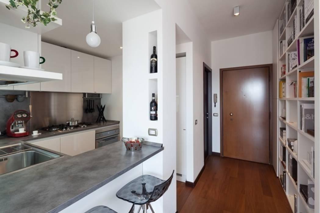 Modern Kitchen by gk architetti (Carlo Andrea Gorelli+Keiko Kondo) Modern