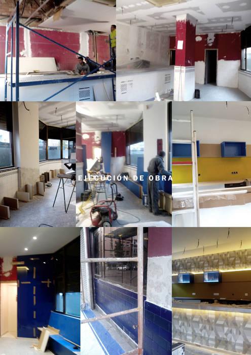 Bar IRIS Gastronomía de estilo moderno de interior03 Moderno