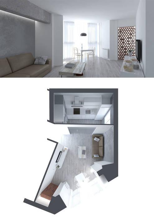 Salón-ccoina Comedores de estilo moderno de interior03 Moderno