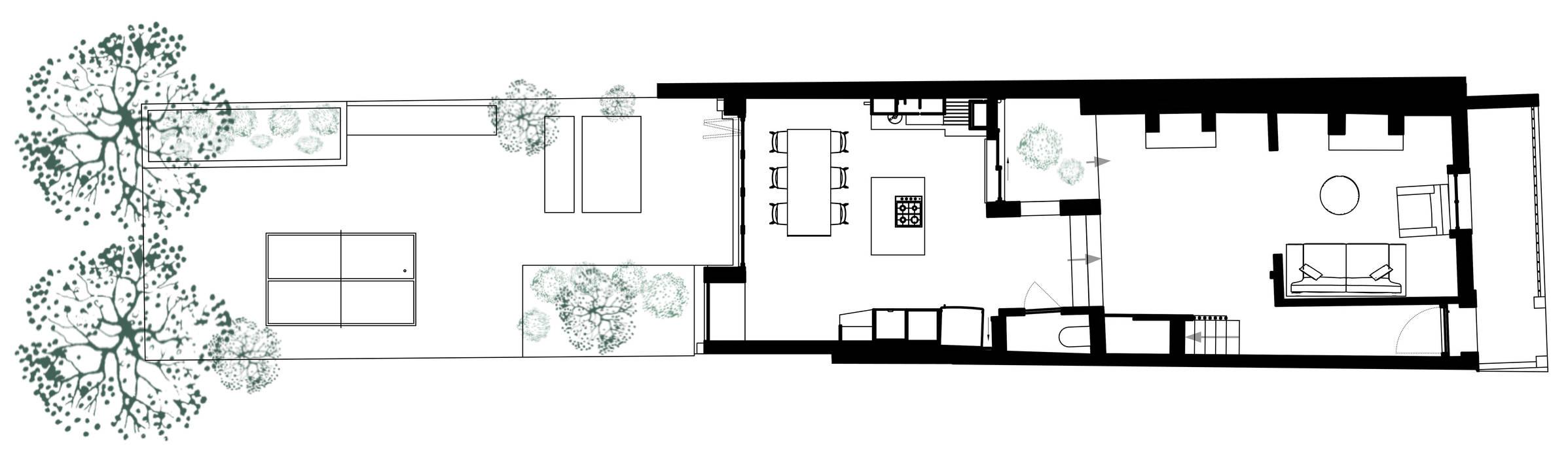 Ground Floor Plan von homify