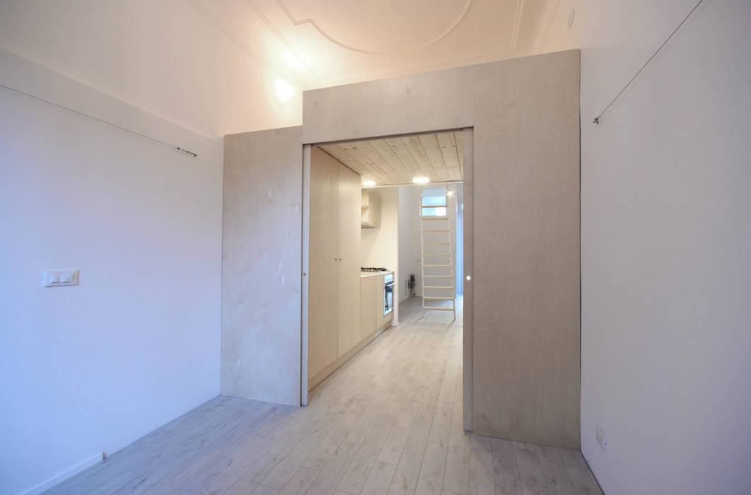 Minimalist bedroom by supercake Minimalist