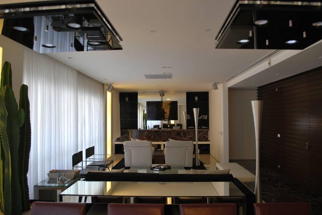 Sala de estar contemporanea Salas de estar ecléticas por ArkDek Eclético