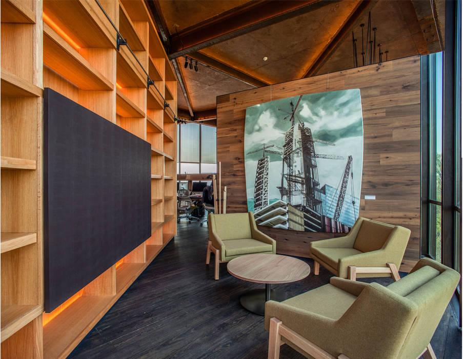 Sala de Ventas: Oficinas y tiendas de estilo  por Cm2 Management
