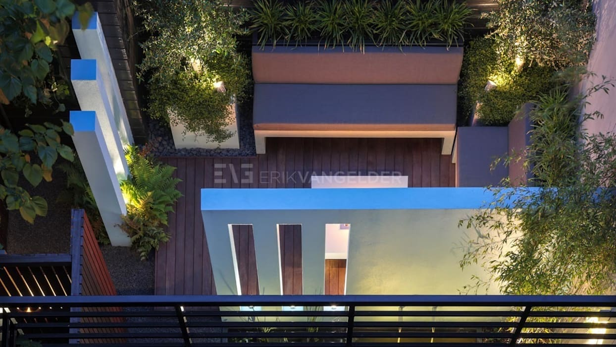 Ontwerp van kleine stadstuin <50m2 Moderne tuinen van ERIK VAN GELDER | Devoted to Garden Design Modern