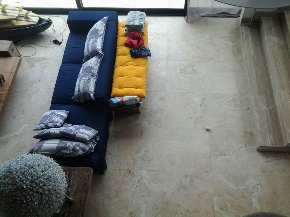 Casa em Angra dos Reis - RJ: Salas de estar  por CAMASA Marmores & Design,Mediterrâneo