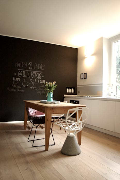 Private Flat Cucina in stile scandinavo di Moodern Scandinavo