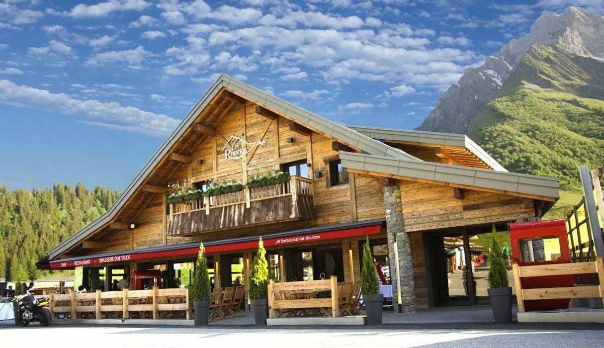Restaurant Les Rhodos Locaux commerciaux & Magasin originaux par JFC Mermillod Éclectique