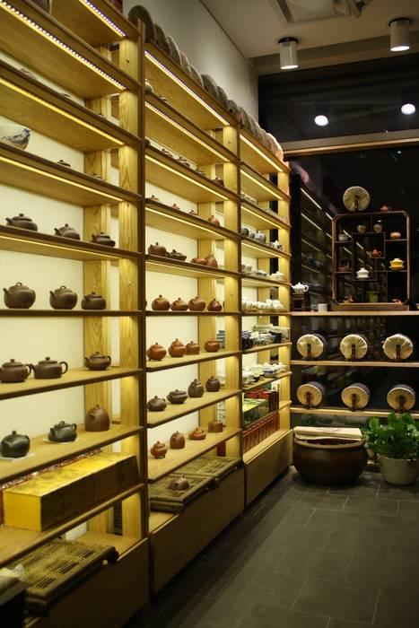 '茶鼎'(da-jung) china tea house. Asian style commercial spaces by Mobelplus Asian