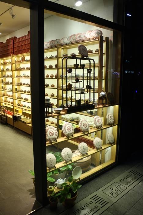 '茶鼎'(da-jung) china tea house.:  Commercial Spaces by Mobelplus,