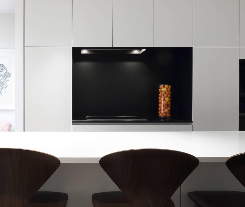 Redesdaale Street Chelsea Basement Development Kitchen:  Kitchen by Shape Architecture,
