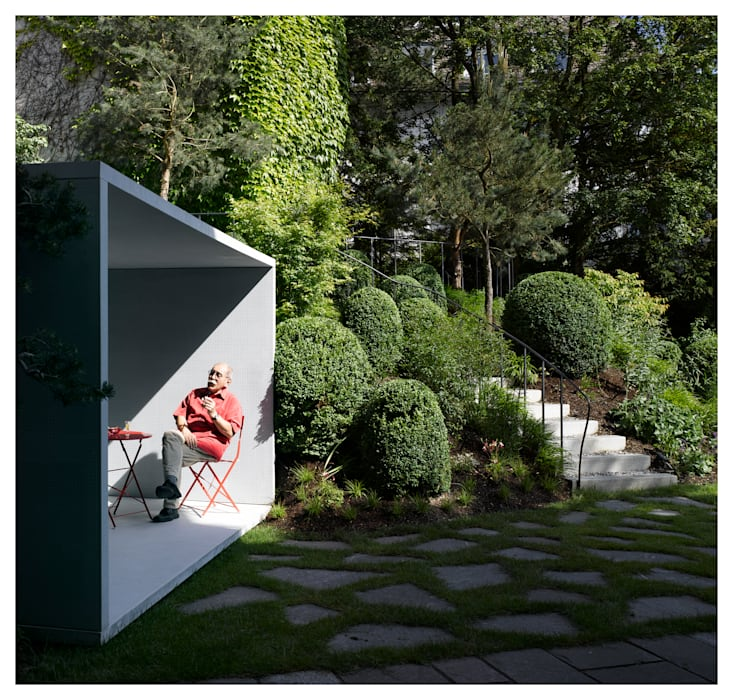 Jardin de style  par Gianni Botsford Architects,