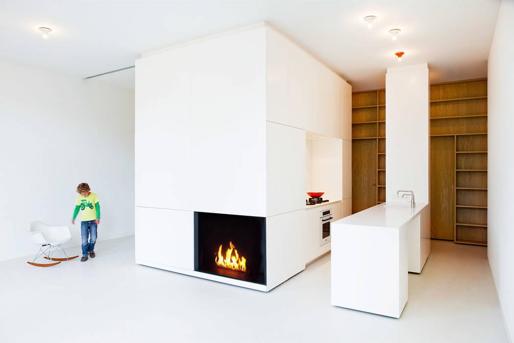 Cocinas modernas de Hamers Meubel & Interieur Moderno