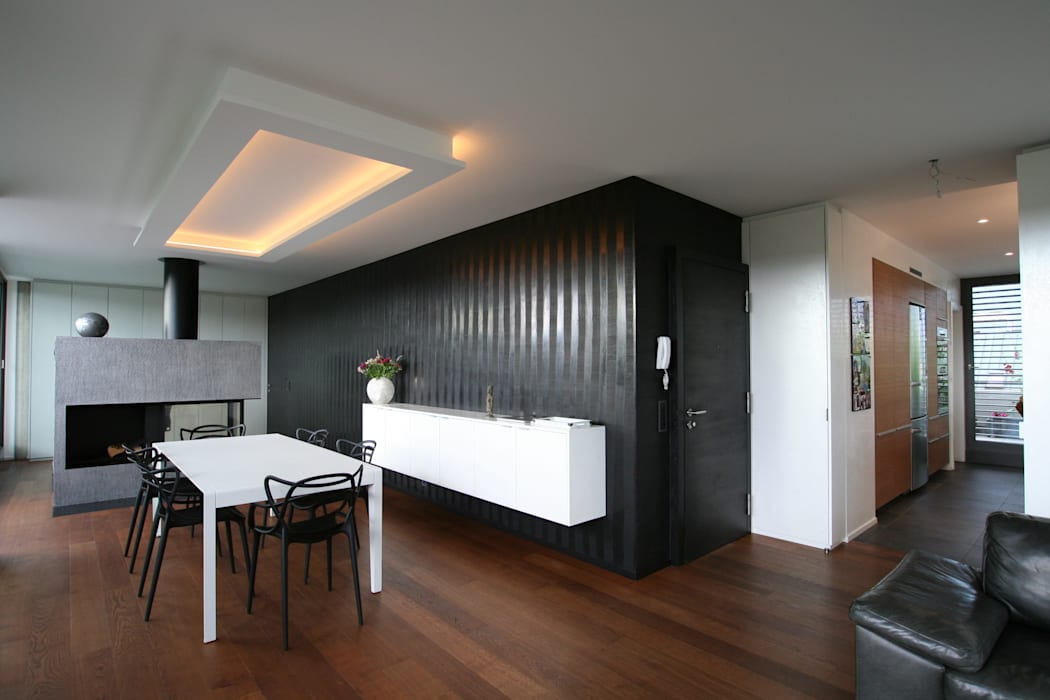 ... et après. Salon moderne par Sylvia Junge Architecte Moderne