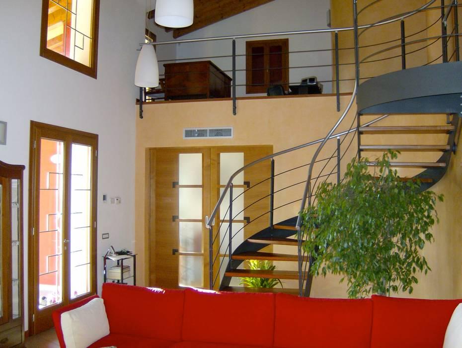 Soggiorno soggiorno moderno di massimo spagnolo architetto ...