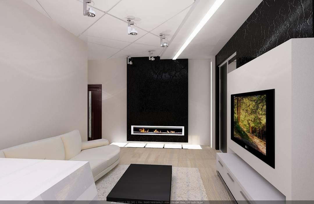 Salon de style  par Студия дизайна Натали Хованской