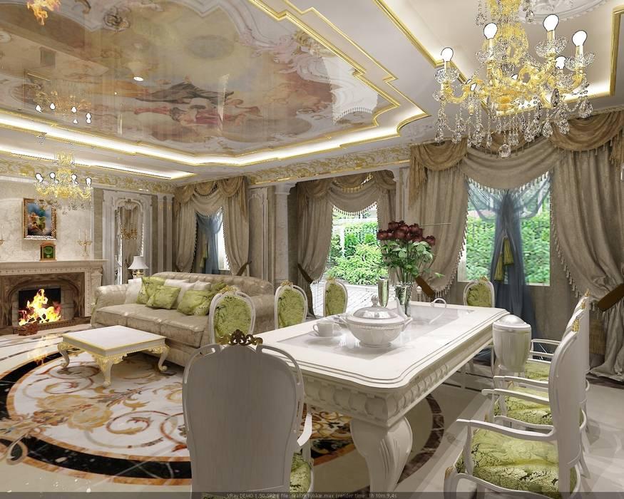 Salon classique par Студия дизайна Натали Хованской Classique