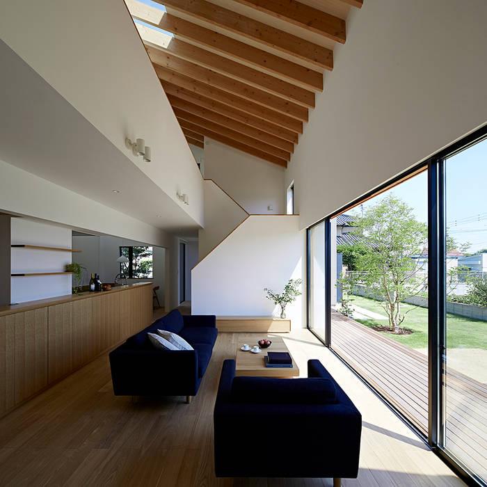 佐々木達郎建築設計事務所 Ruang Media Modern