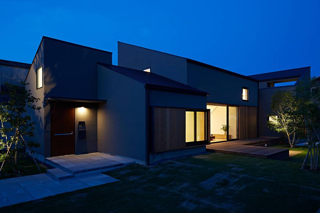 佐々木達郎建築設計事務所 Rumah Modern