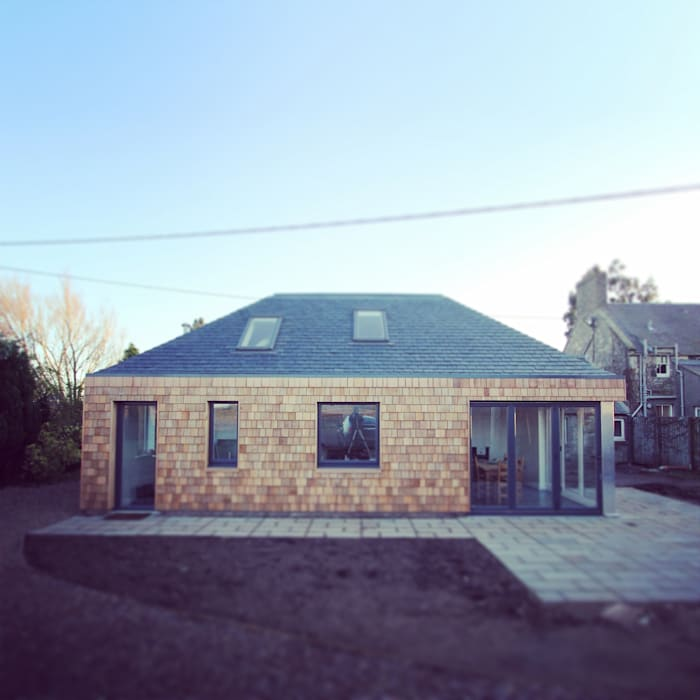 Rear elevation:  Houses by A449 LTD,