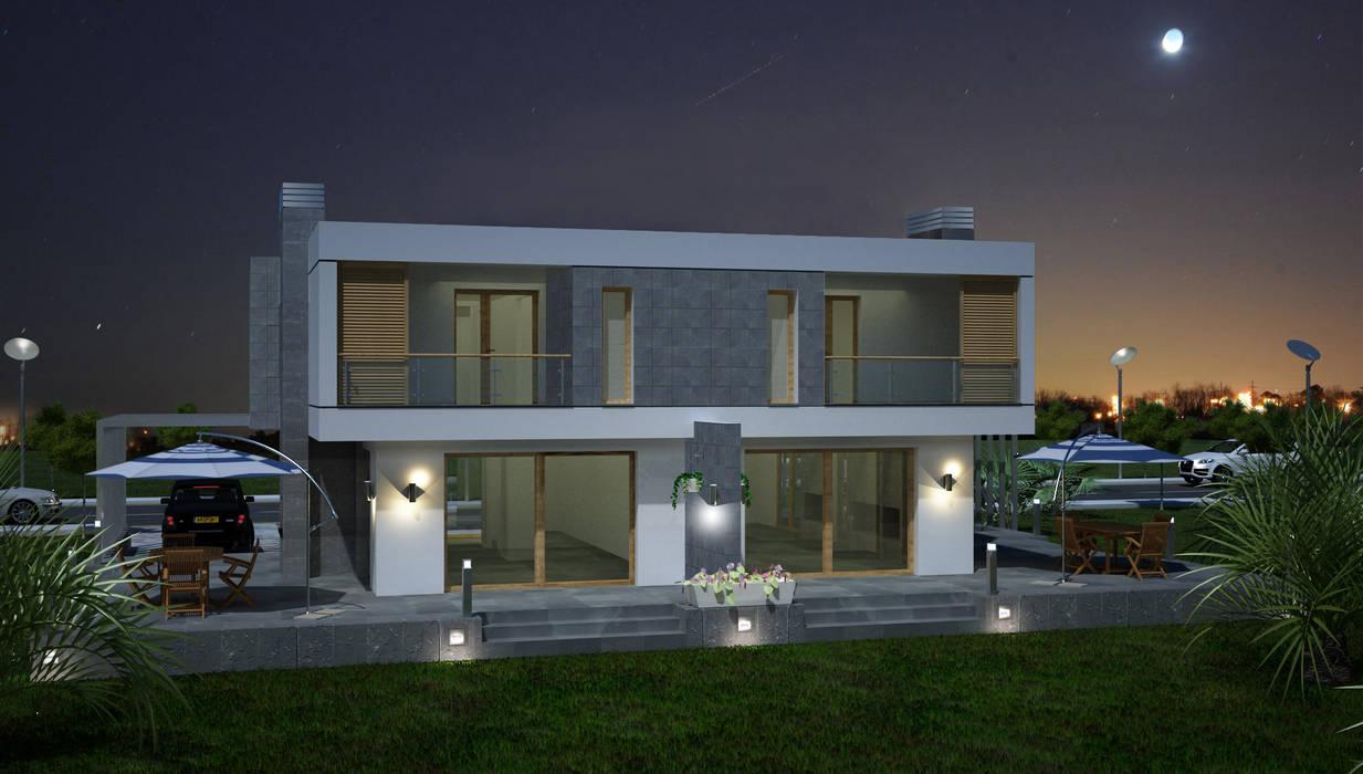 TARKAN OKTAY MİMARLIK Minimalist house